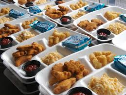 school lunch brown